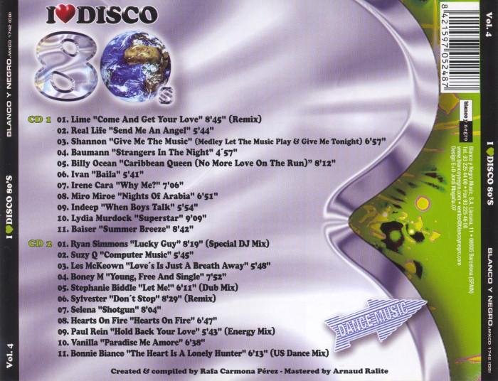 V.A. - I Love Disco 80's (8 Vols.) (WAV) BackCustom_zps027561a4