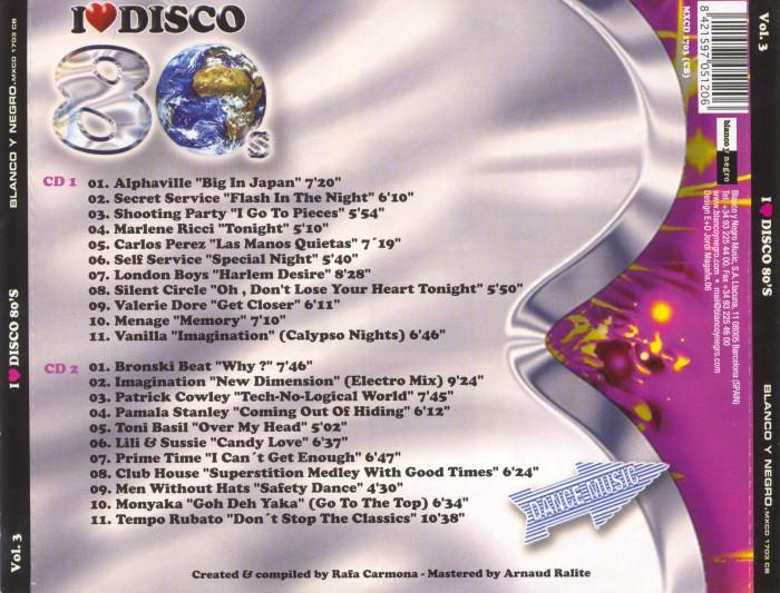 V.A. - I Love Disco 80's (8 Vols.) (WAV) BackCustom_zps722de614