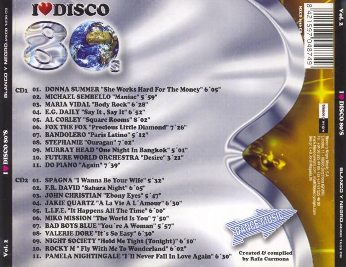 V.A. - I Love Disco 80's (8 Vols.) (WAV) BackCustom_zps775d21da