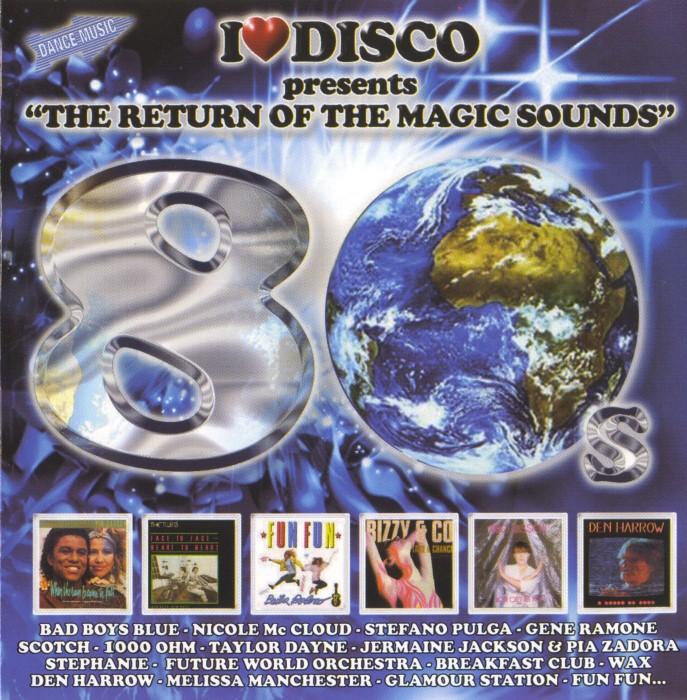 V.A. - I Love Disco 80's (8 Vols.) (WAV) Front1-1Custom_zps8bfba27d
