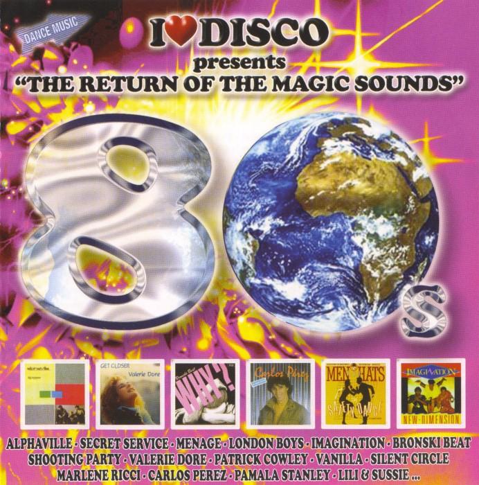 V.A. - I Love Disco 80's (8 Vols.) (WAV) Front3-1Custom_zpsc72f69ef