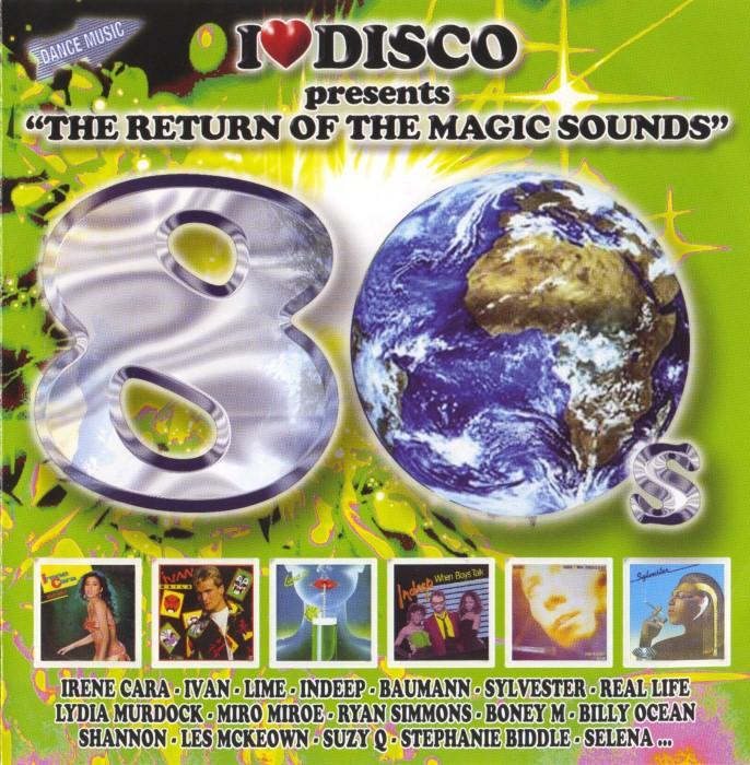 V.A. - I Love Disco 80's (8 Vols.) (WAV) Front4-1Custom_zps4059cb10