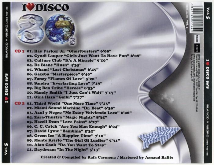 V.A. - I Love Disco 80's (8 Vols.) (WAV) ILoveDisco80sVol5-Back01Custom_zps77efc977