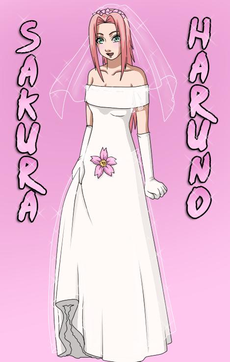 The Girls of Konoha An appreciation thread Naruto_bride___Sakura_by_WhiteGamma_zps9f616889