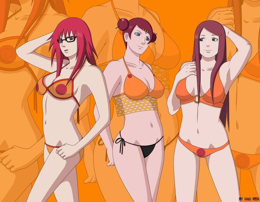 The Girls of Konoha An appreciation thread Point_commission__the_uzumaki_ladies__by_hau_ren-d5eo6gh_zps0f62bc0e