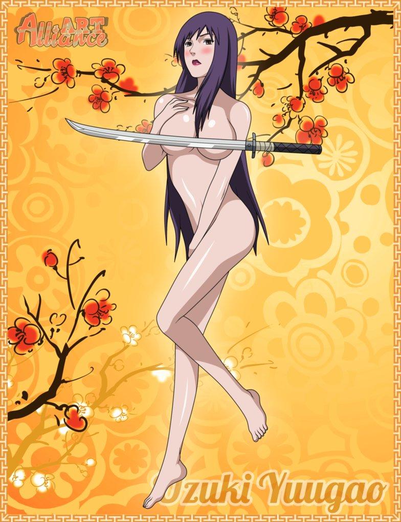 The Girls of Konoha An appreciation thread Uzuki_yuugao__sexy_ninja__by_david_y_f-d65fl1hpng_zps6810541c