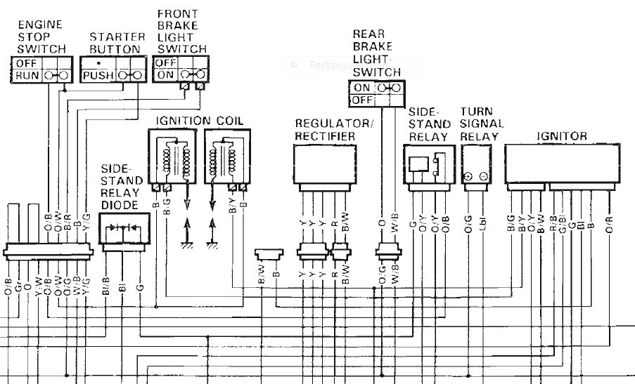 vz800 wiring diagram