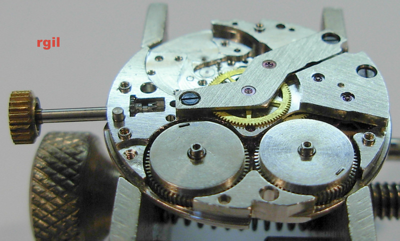 Révision d´une montre Slava 501-023