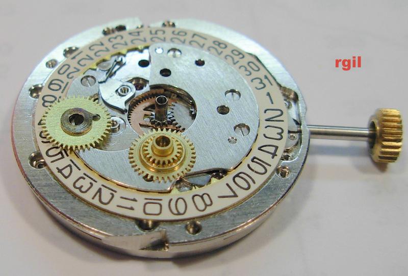 Révision d´une montre Slava 501-068