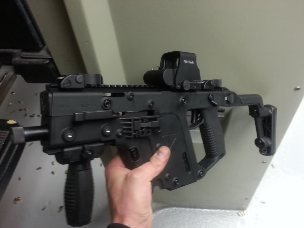 Kriss Vector Dot Sight Pictures