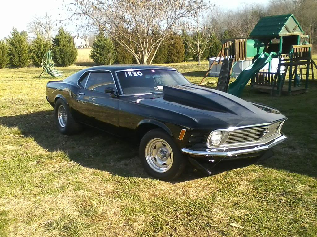 My 521 in a 1970 mustang..New pics added.. 064_zpsc14e309f