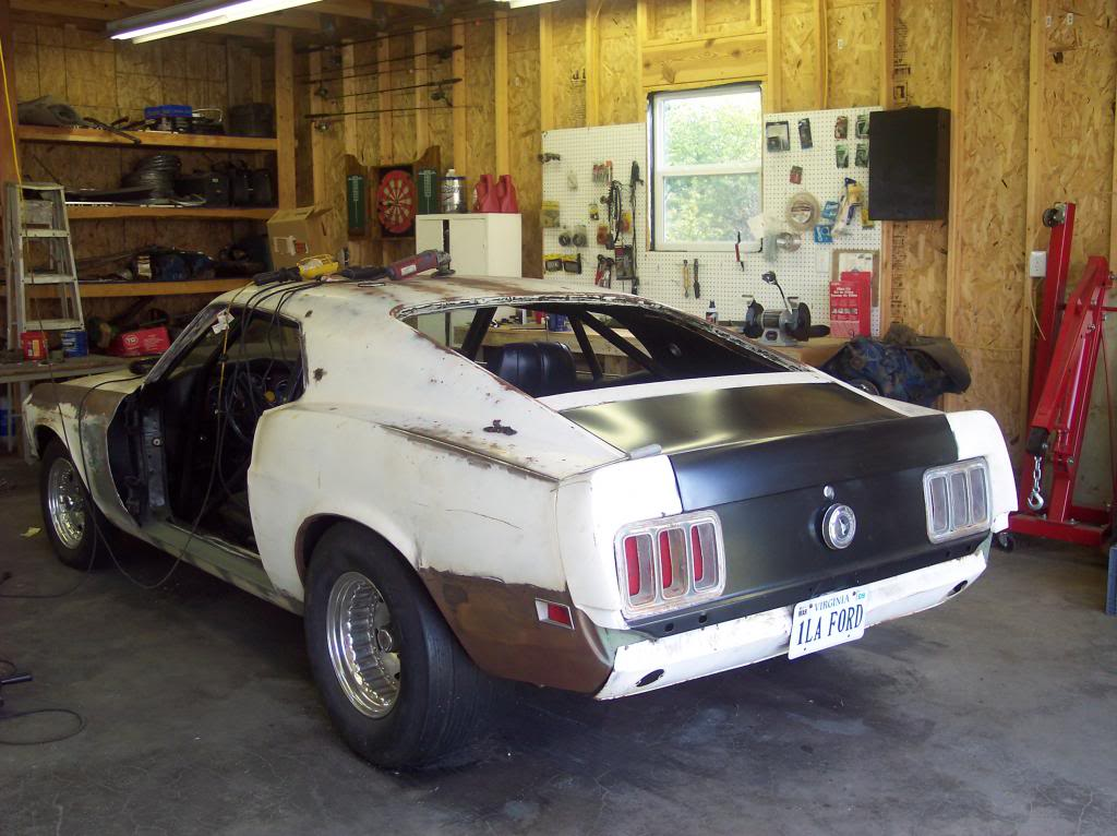 My 521 in a 1970 mustang..New pics added.. 100_0812_zps1d8cd3b1