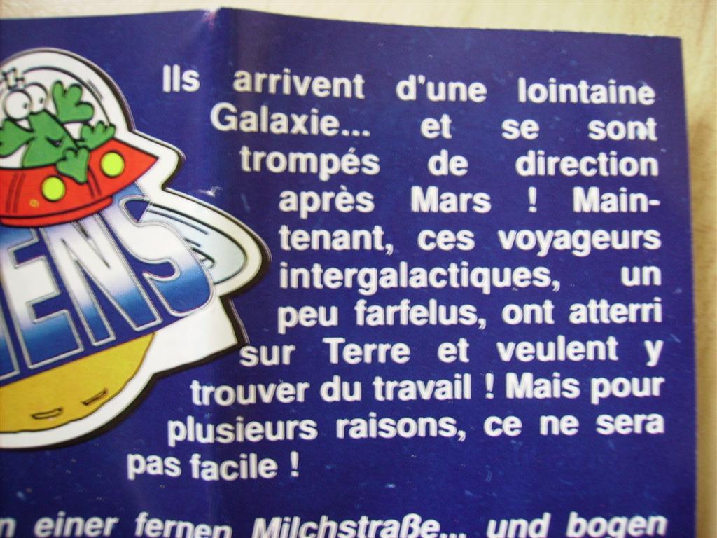 Comic Alien 1993 , petites figurines en PVC Comicalien17