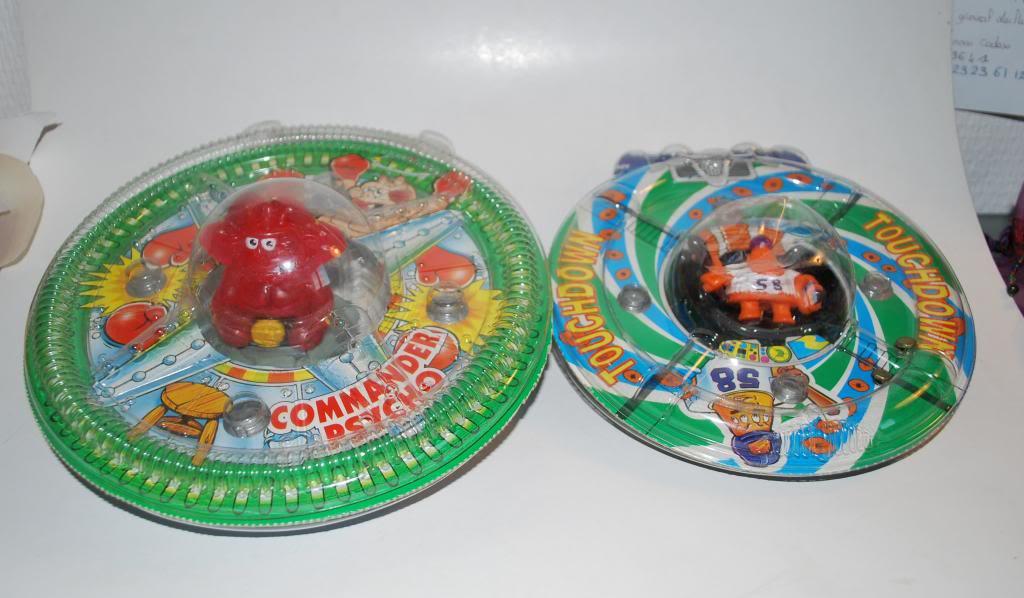 Comic Alien 1993 , petites figurines en PVC Comicalien18