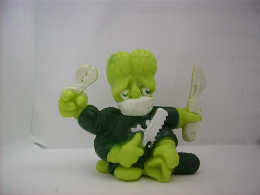 Comic Alien 1993 , petites figurines en PVC Comicalien3