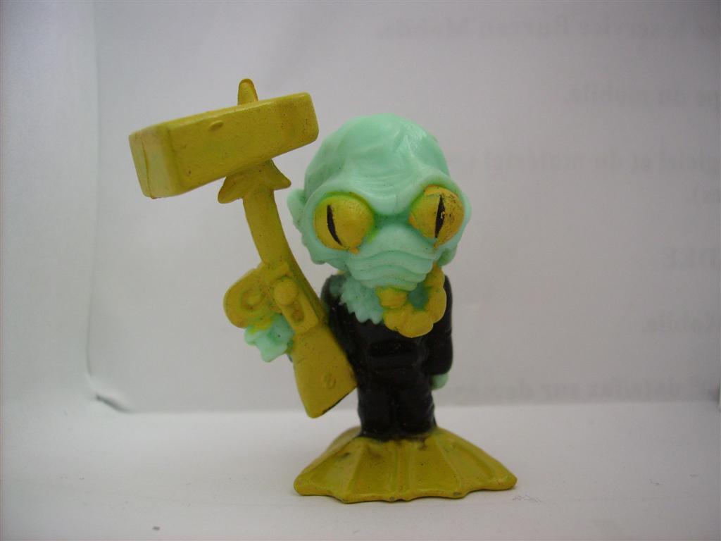Comic Alien 1993 , petites figurines en PVC Comicalien4