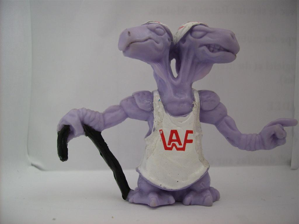Comic Alien 1993 , petites figurines en PVC Comicalien8