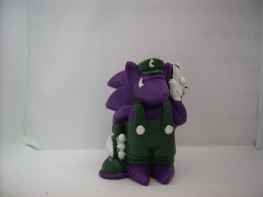 Comic Alien 1993 , petites figurines en PVC Comicalien9