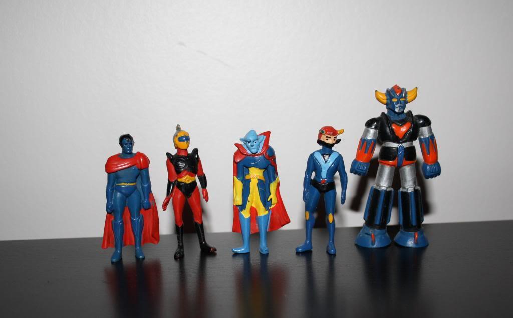 Goldorak - 1974- fabianplastica- Les figurines PVC Pvc5