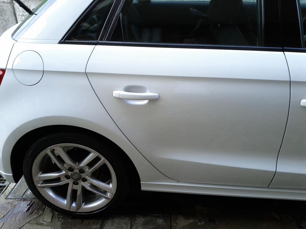 Audi A1 bianco metalizzato: prima sessione di detailing. giudizio? IMG_20140727_163123_zps012dbe4f