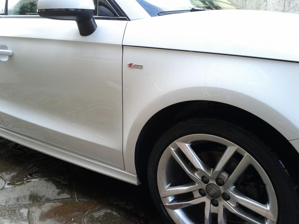 Audi A1 bianco metalizzato: prima sessione di detailing. giudizio? IMG_20140727_163136_zps667517f0