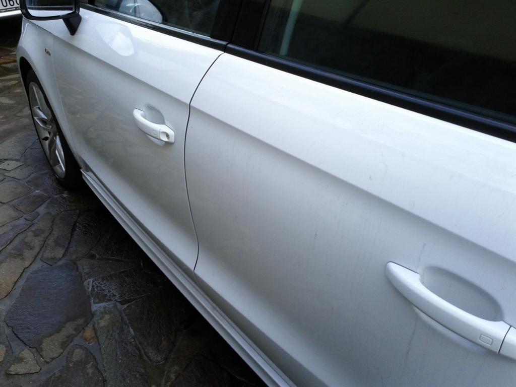 Audi A1 bianco metalizzato: prima sessione di detailing. giudizio? IMG_20140727_163221_zps587c8114