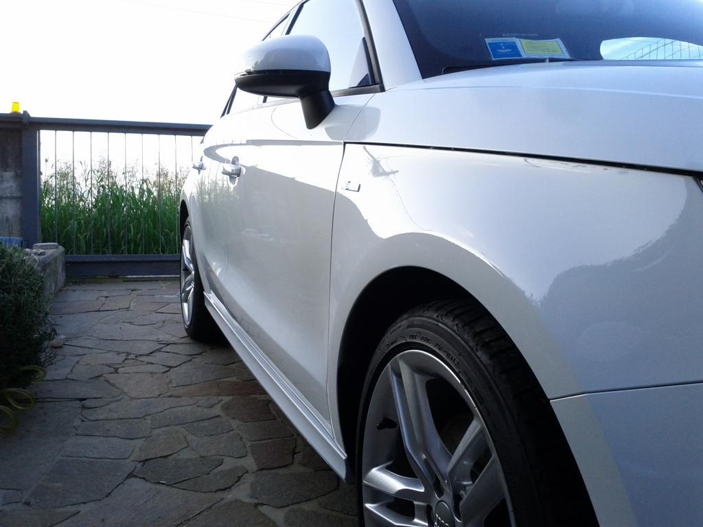 Audi A1 bianco metalizzato: prima sessione di detailing. giudizio? IMG_20140727_200044_zpsb13dbedf