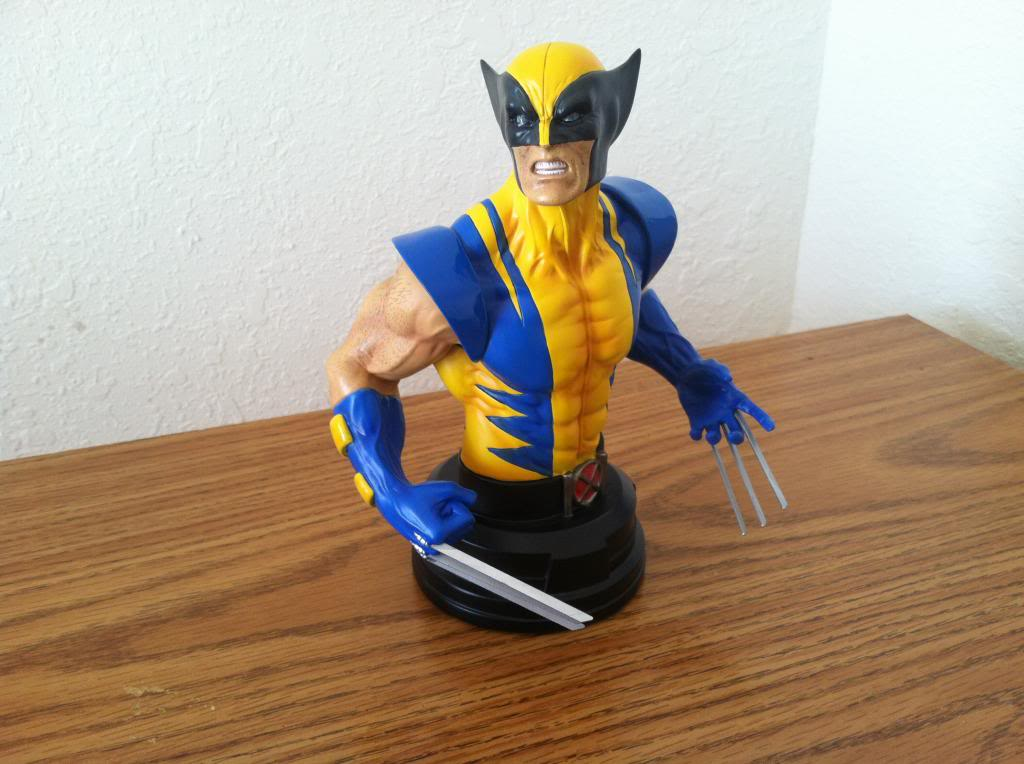 WOLVERINE YELLOW AND BLUE MINI BUST 045_zps76e73226
