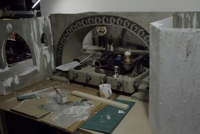 Custom Diorama 1:6 Scale Jabba the Hutt Sideshow 23