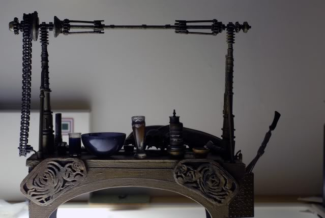 Custom Diorama 1:6 Scale Jabba the Hutt Sideshow _xbfsDSC0039