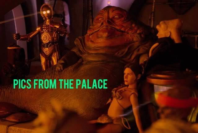 Custom Diorama 1:6 Scale Jabba the Hutt Sideshow Beau3a
