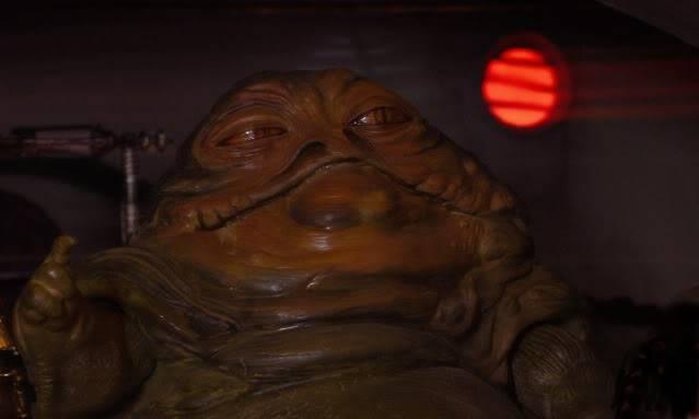 Custom Diorama 1:6 Scale Jabba the Hutt Sideshow Bob13