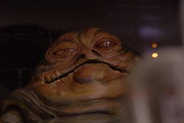 Custom Diorama 1:6 Scale Jabba the Hutt Sideshow Bobaend