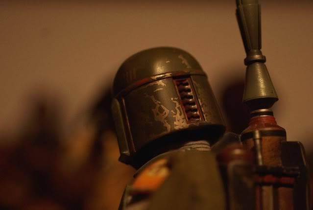 Custom Diorama 1:6 Scale Jabba the Hutt Sideshow Bobhead