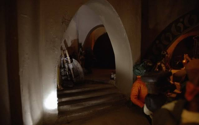 Custom Diorama 1:6 Scale Jabba the Hutt Sideshow Corridor