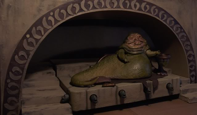 Custom Diorama 1:6 Scale Jabba the Hutt Sideshow Jax