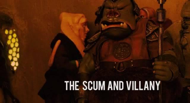Custom Diorama 1:6 Scale Jabba the Hutt Sideshow Jkr-2