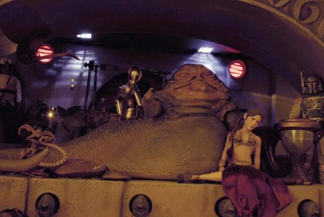 Custom Diorama 1:6 Scale Jabba the Hutt Sideshow Nearly