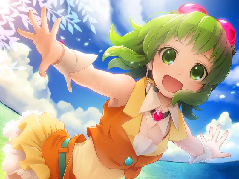 Vocaloid D's D app Gumi2
