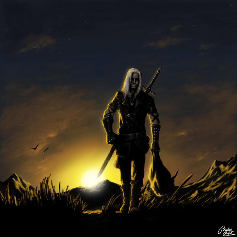 Edorn Aurargéntea Witcher_by_Obrotowy