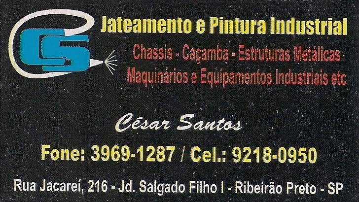 Jateamento de Areia CesarSantosJateamentoAreia