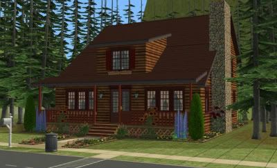 The Simmers Club - Featured Downloads and Updates LogCabin-2-1