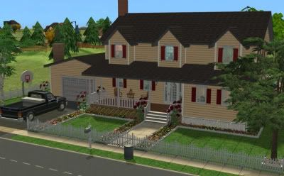 The Simmers Club - Featured Downloads and Updates NewCountryHouse-1