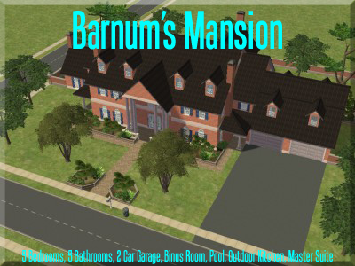 The Simmers Club - Featured Downloads and Updates Barnumsmansion1