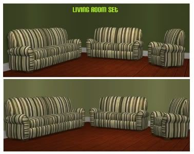The Simmers Club - Featured Downloads and Updates GreenLivingRoomSet-1