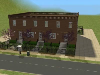 The Simmers Club - Featured Downloads and Updates Brownstones1-1
