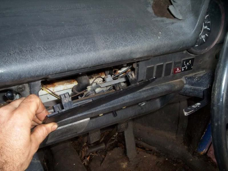 Desmontaje salpicadero 1303 Dash5