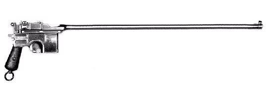 Armas de Hellsing MauserC96