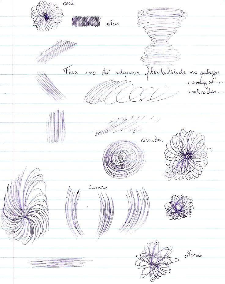 Duvidas, curiosidades e algo mais sobre desenho Exercisesios