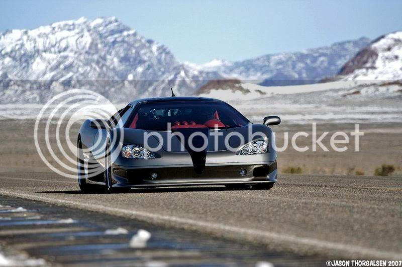 World Fastest Car (Bugatti Veyron lost to this car!!!) 2007-ssc-ultimate-aero-tt-3